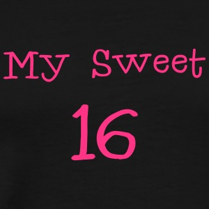 My Sweet 16 / 16th fødselsdag / Party 1c - Herre premium T-shirt