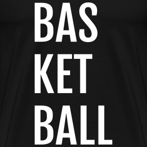 Basketball - Three Lines - Men's Premium T-Shirt