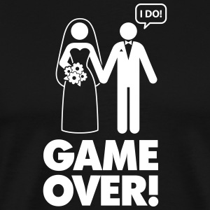 Game Over! I Am Married. - Men's Premium T-Shirt