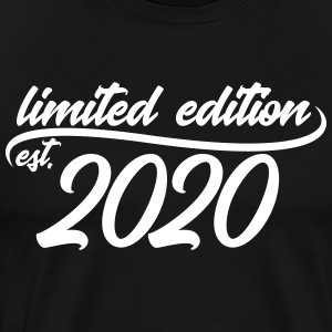 Limited Edition est 2020 - Premium T-skjorte for menn