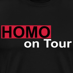 homo on tour - Mannen Premium T-shirt