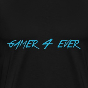 Gamer 4 Ever - Premium T-skjorte for menn