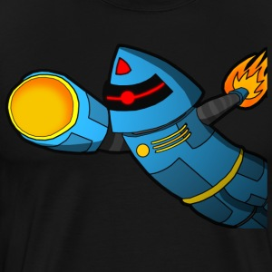 Blast off! - Premium T-skjorte for menn