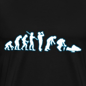 Human EVOLUTION ALCOHOL - Men's Premium T-Shirt