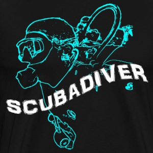 ScubaDiverShirt001 - Men's Premium T-Shirt