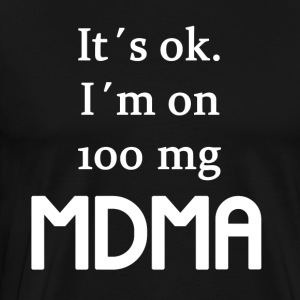 100mg MDMA - Men's Premium T-Shirt