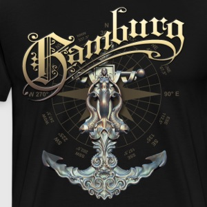 Hamburg anchors - Men's Premium T-Shirt