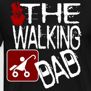 The Walking Dad- Halloween version shirt - Männer Premium T-Shirt