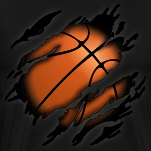 Basketball in me - Men's Premium T-Shirt