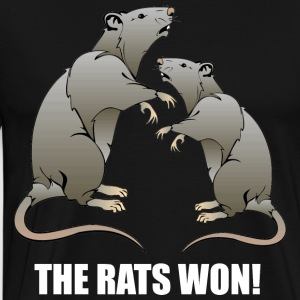 THE RATS WON! - Männer Premium T-Shirt