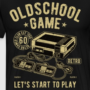 Oldschool game video game - Men's Premium T-Shirt