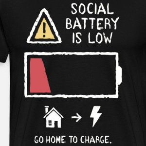 Social battery is low to go home to charge