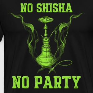 No Shisha no Party - Männer Premium T-Shirt