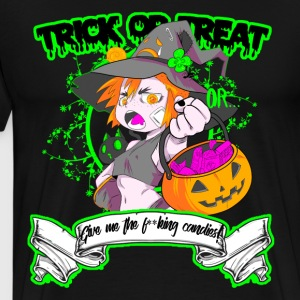 Trick or Treat - Mannen Premium T-shirt