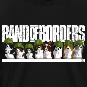 Band Of Borders (Blanc) - T-shirt Premium Homme