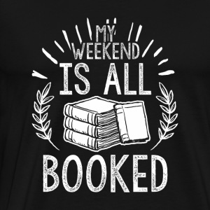 BOOKS BOOK LITERATURE: ALL BOOKED GIFTS - Men's Premium T-Shirt