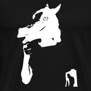 Funny horse - T-shirt Premium Homme
