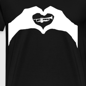 Love trumpet - Men's Premium T-Shirt
