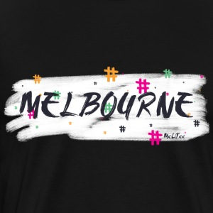 Melbourne #2 - Men's Premium T-Shirt