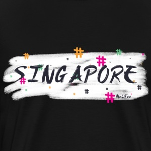 Singapore # 2 - Premium T-skjorte for menn