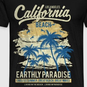 CALIFORNIA BEACH - Surf and summer shirt motif - Men's Premium T-Shirt
