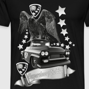 Revier övervakning Car Collection silver - Premium-T-shirt herr