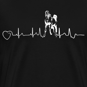 Horses are my heartbeat - II - Men's Premium T-Shirt