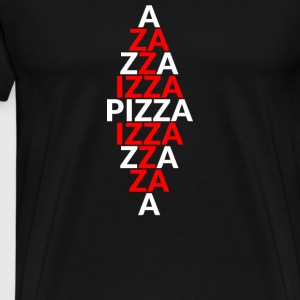 Pizza / pizza heart / Italy / boots / gift - Men's Premium T-Shirt