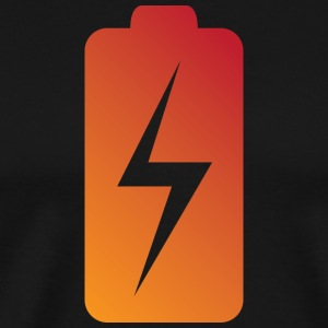 Battery Charging Status - Men's Premium T-Shirt