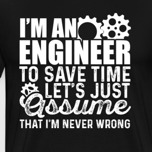 Engineering shirt - Men's Premium T-Shirt