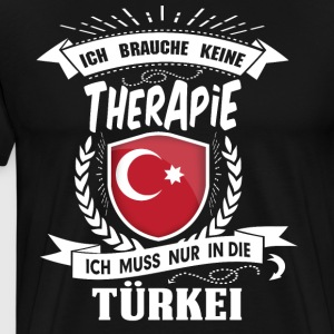 I do not need therapy Turkey - Men's Premium T-Shirt