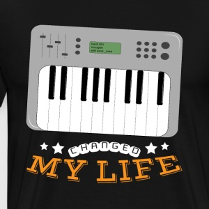 Synthesizer Changed My Life - Männer Premium T-Shirt