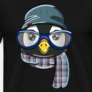 Hipster Pinguin