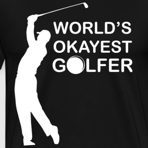 golfare World - Premium-T-shirt herr