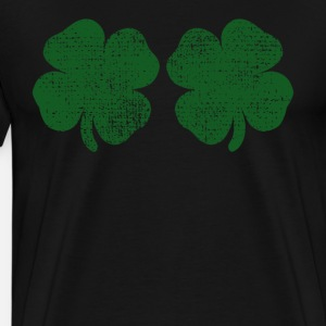 St Patricks Day shamrock Brueste