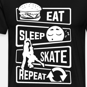 Eat Sleep Skate Repeat - Ice Skating Figure Skating