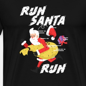 Run Santa Run Cardio Running Workout Xmas Christmas