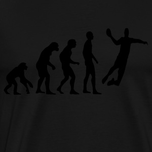 Human Evolution Handball - Men's Premium T-Shirt