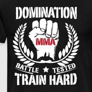 MMA FIGHTER - Premium T-skjorte for menn
