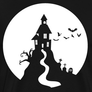 Halloween Haunted Castle Slot Ghost Slot Spøgelser - Herre premium T-shirt