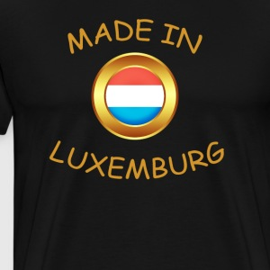 """MADE IN LUXEMBOURG"" - T-shirt Premium Homme"