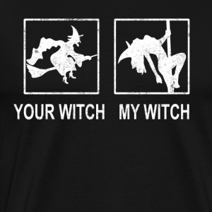 your witch my witch (weiss) - Männer Premium T-Shirt