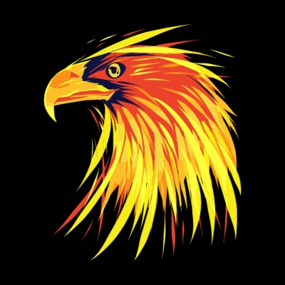 Eagle Of Fire - Brennender Adler