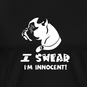 DOG | DOGGE I SWEAR - Men's Premium T-Shirt