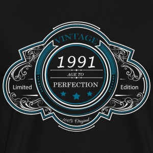 Vintage 1991 age to perfection LIMITED EDITION - Men's Premium T-Shirt