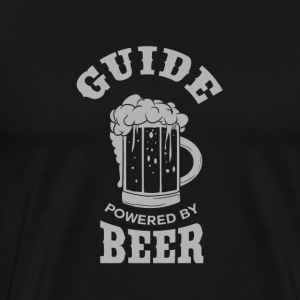 GUIDE powered by BEER - Männer Premium T-Shirt