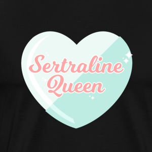 Sertraline Queen - Premium-T-shirt herr