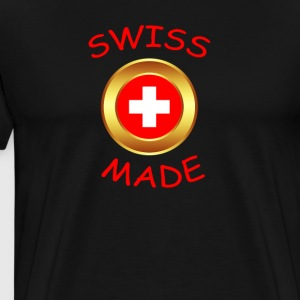 """SWISS MADE"" - Mannen Premium T-shirt"