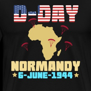 DDay Normandie Invasion C47 Dakota Aircraft Parachute Shirt