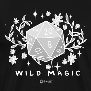 WILD MAGIC - WHITE - Premium T-skjorte for menn